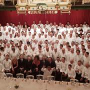 Le Dîner des Grands Chefs en hommage à Paul Bocuse se tenait hier soir à L'Abbaye de Collonges – acte 1