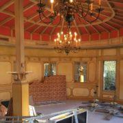 Travaux à Maison Bocuse – Tout s'active à Collonges-Au-Mont-D'Or pour être prêt pour le Sirha, 70 ouvriers se relaient jours et nuits