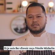 Tomy Gousset : » Je suis fier d'avoir reçu l'étoile Michelin en 2019 «