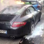 Chef Christian Etchebest – son véhicule a été brûlé lors de la dernière manifestation des Gilets Jaunes à Paris