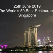 C'est le 25 juin prochain au Marina Bay à Singapour que seront révélés les World's 50 BestRestaurants2019