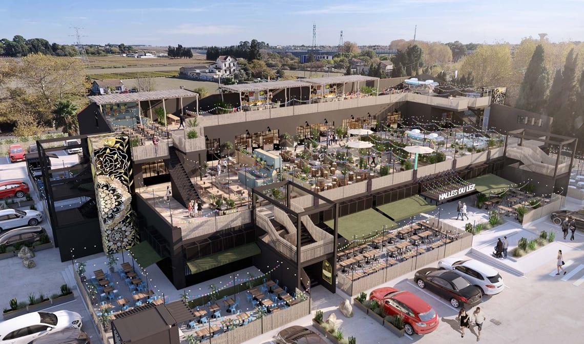 Food Court : Le concept totalement inédit des Halles du Lez