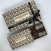 Chocolats haute couture par Sébastien Gaudard et Salvatore Ferragamo