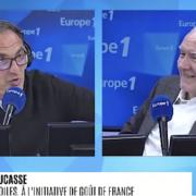Alain Ducasse face à Nikos Aliagas sur Europe1- » Il n'est pas question d'imposer le goût français, mais le savoir-faire français et la notion de partage et de générosité «