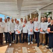 Les Maîtres Cuisiniers de France région Occitanie présentent le guide 2019 sur la plage Carré Mer