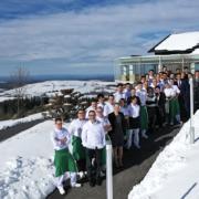 Le restaurant Sébastien Bras réouvre pour sa saison 2019 sous la neige et avec deux étoiles