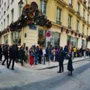 Vendredi 12 avril 12h12 – ouverture des portes de Eataly Marais à Paris – Il fallait compter deux heures d'attente pour découvrir les lieux