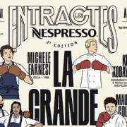 Du 14 au 25 mai lors du 72èmeFestival de Cannes –Nespresso – remet le couvert avec les chefs  de cuisine !