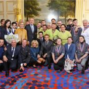 400 artisans des métiers de bouche et des fleurs réunis à L'Élysée pour célébrer le savoir-faire des terroirs de France