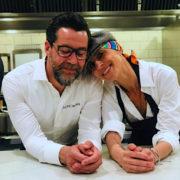 Dominique Crenn et Quique Dacosta réunis pour un 4 mains à San Francisco, grand moment d'émotion dans les cuisines du 3 étoiles