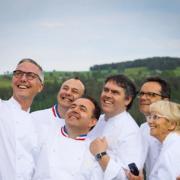 Ce soir se déroule le 3ème dîner pour fêter les 10 ans du restaurant Serge Vieira à Chaudes-Aigues