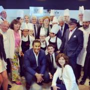 » 8 c'est un chiffre porte-bonheur » a indiqué le chef Thierry Marx hier à Toulouse pour la création de la 8ème école «Cuisine Mode d'Emploi(s) «