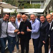Scènes de Chefs – Bono à La Chèvre d'Or, Depardieu chez Georges Blanc, Pierre Gagnaire à Nîmes, René meilleur chef Y. Conte, C.Bacquié chez Michel Troisgros, …