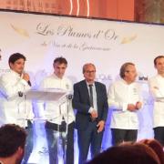 David Sinapian remettait ce soir Les Plumes D'Or Vin & Gastronomie 2019
