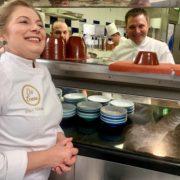 Dina Nikolaou – Patrick Laine – Un 4 mains en honneur à la Cuisine Grecque au Restaurant Ômer à l'Hotel de Paris
