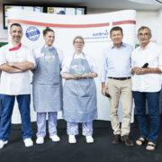 Michel Bras parraine le concours de pâtisserie » Un pour tous, tous pour un «