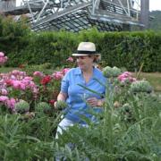 La chef Hélène Darroze prend en charge pour l'été les cuisines de La Villa La Coste à Aix-En-Provence