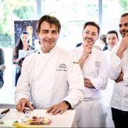 Ce week-end se tenait le salon des Champagnes et de la Pâtisserie au Pavillon Ledoyen
