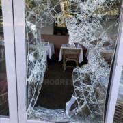» Le Sud » la brasserie du groupe Paul Bocuse à Lyon, dévastée hier soir par des casseurs