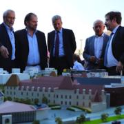 La première pierre de la future Cité de la Gastronomie posée à Dijon