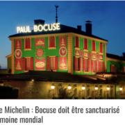 Maison Paul Bocuse devrait être classé définitivement » trois étoiles hors compétition «