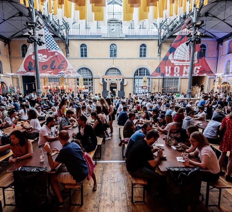 les terrasses du lyon street food festival