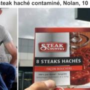 Contaminé par un steak haché, un jeune enfant de 10 ans décède