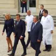 Le Déjeuner des Grands Chefs à l'Élysée – acte 1 – l'arrivée des chefs et la grande photo de famille