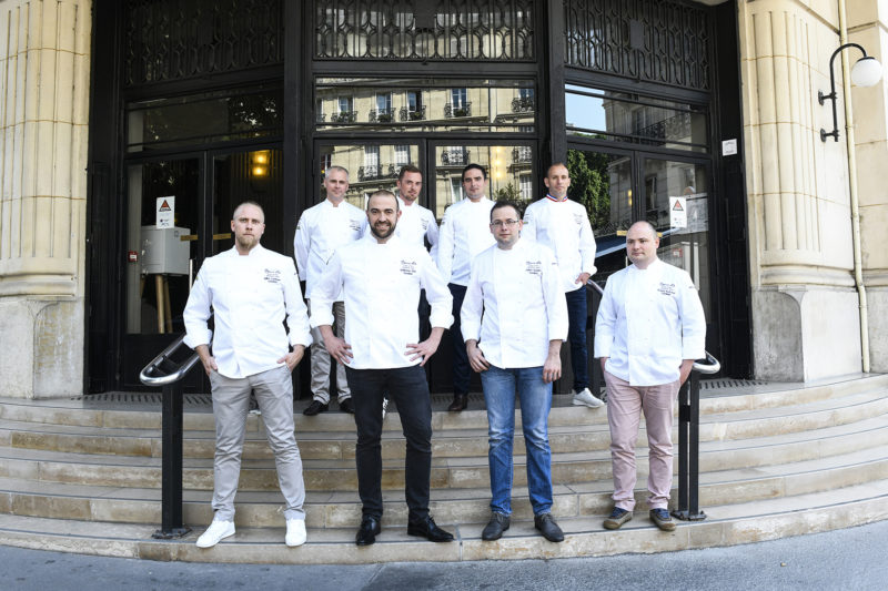 equipe bocuse or france 2019
