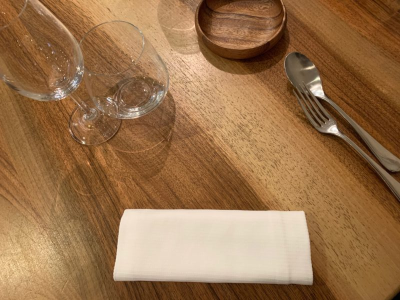 table du restaurant accents bourse