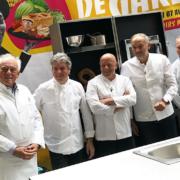 5 chefs étoilés ont régalé les Parisiens – Le Squer, Rostang, Fréchon, Marx, Roth une brigade en gare