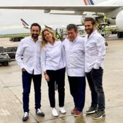 Christelle Brua, Julien Duboué, Christian Constant, Pierre Augé partent au Japon pour cuisiner pour la Coupe du Monde de Rugby 2023