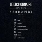 Livre «Le Dictionnaire des Chefs» – Eric Glatre & l'Ecole Ferrandi Paris