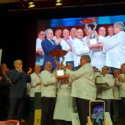 Louis Gachet remporte l'International Cup de Cuisine – Trophée Prince Albert II de Monaco qui s'est disputait lors du Chefs World Summit