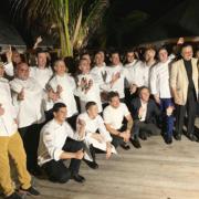 Le Saint-Barth Gourmet Festival 2019 clôturait sa 6ème édition ce week-end, le chef Arnaud Faye en était le parrain