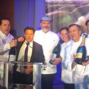 Arnaud Lallement fête le Champagne à New York avec les chefs Daniel Boulud, Andrew Carmellini et Melissa Rodriguez