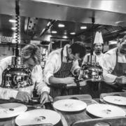 Le chef Édouard Loubet a fêté 20 ans de deux étoiles en compagnie des chefs Juan Arbelaez et Christophe Aribert