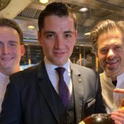 Sergio Herman cuisine ce week-end à Hong Kong au Caprice Four Seasons du chef Guillaume Galliot