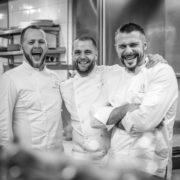 Un 6 mains à La Mirande ou quand Florent Pietravalle invite Glenn Viel et Brandon Dehan pour un diner bousculant les étoiles