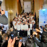 Ainsi va La Liste des 1000 – Elle a été présentée hier soir à Paris au Quai D'Orsay avec les meilleurs chefs du monde