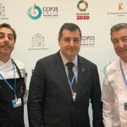 Pour le dîner d'ouverture de la COP 25 à Madrid, les frères Roca ont élaboré un menu sur le thème de » La terre s'épuise «