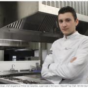 La Revue de Presse de la Semaine – Les recettes des chefs pour les fêtes, Mariage du chef Juan Arbelaez, la recette gagnante de Jérôme Banctel, un Breton à Objectif Top Chef…