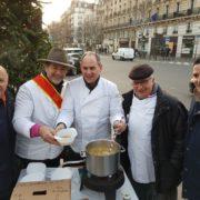 Des galettes, des chefs et du coeur – La galette du coeur a rapporté 14 250 euros
