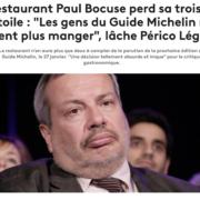 Perte de la troisième étoile au restaurant Maison Bocuse – Les premières réactions