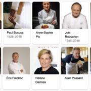 Popularité des chefs de cuisine sur le Web – @réputation – Mars 2020