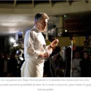 Régis Marcon – » il faut rester solidaires et combattre ce problème ensemble «