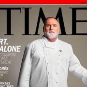 José Andrès – un chef héros des temps modernes – le TIME lui consacre sa couverture