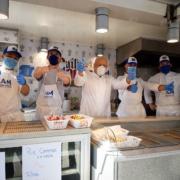 Scène de Chefs – Chefs masqués !, Gordon Ramsay vélo !, Michel Sarran Birthday !, Mauro Colagreco légumes racines !, Ludo Lefebvre au secours !, …