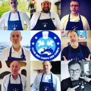 L'opération «Tablier Solidaire» en soutien au personnel soignant lancée par le Club des Chefs des Chefs continue…