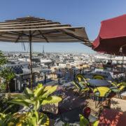 On passe au vert avec le chef Julien Sebbag  et son restaurant CREATURES (Moma Group) sur la terrasse des Galeries Lafayette Paris Hausmann